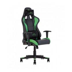 HEXTER (ХЕКСТЕР) ML R1D TILT PL70 01 BLACK/GREEN  геймерское кресло