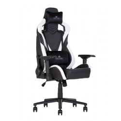 HEXTER (ХЕКСТЕР) PRO R4D TILT MB70 02 BLACK/WHITE    геймерское кресло