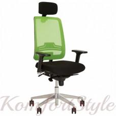Absolute (Абсолют) R (HR) net black  кресло компьютерное
