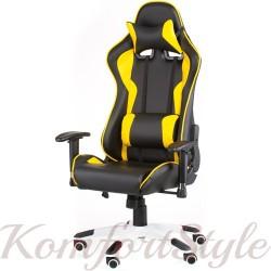 Геймерское кресло ExtremeRace black/yellow