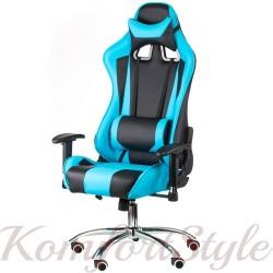 Геймеровское кресло ExtremeRace black/blue
