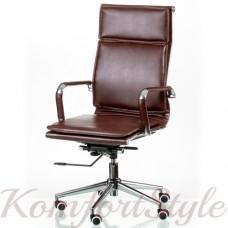Кресло руководителя Solano 4 artleather brown