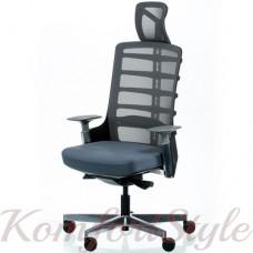 Кресло руководителя SPINELLY  SLATEGREY/BLACK