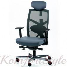 Кресло руководителя TUNE SLATEGREY/BLACK