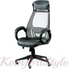 Кресло  руководителя Briz grey/black