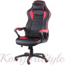 Кресло  руководителя/геймерское  Nero black/red