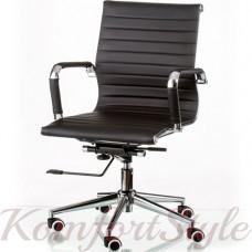 Кресло  руководителя  Solano 5 artleather black