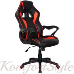 Геймерское кресло  Game black/red