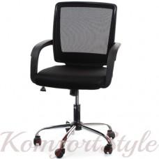 Кресло офисное  VISANO, Black/Chrome