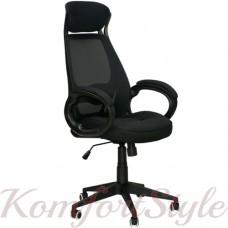 Кресло  руководителя Briz black fabric