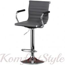 Барный стул  Bar grey plate