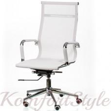 Кресло руководителя Solano mesh white