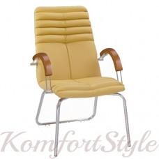 Galaxy wood CFA LB (Гелакси вуд конференц) кресло для конференц-залов с инкрустацией деревом
