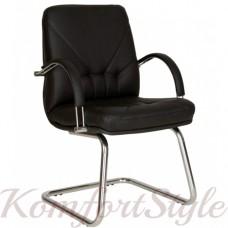 Manager (Менеджер) steel  CF LB chrome   кресло для конференц-залов