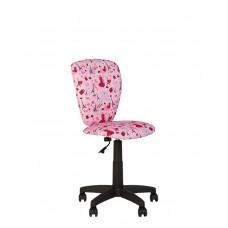 Polly (Полли) GTS  (black/white) PL55  детское компьютерное кресло