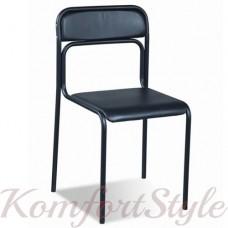 Ascona black/chrome  (Аскона ) офисный стул для посетителей